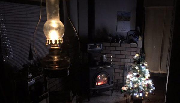 薪ストーブライフとクリスマス。