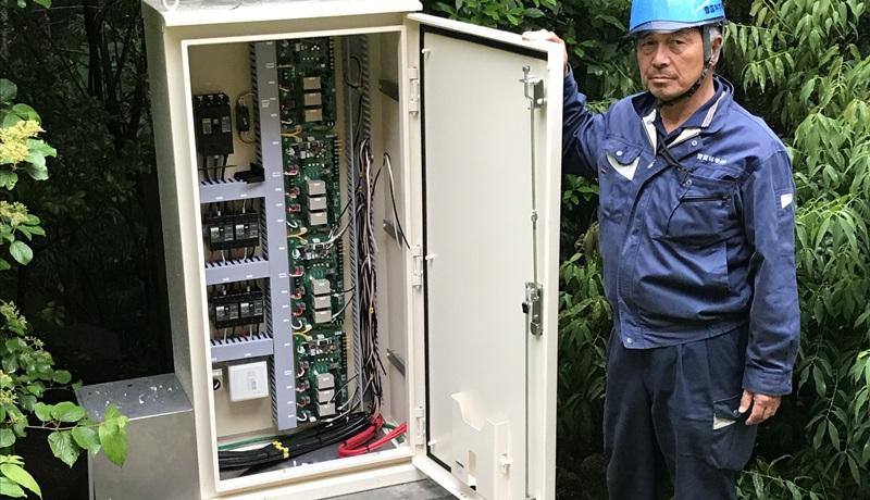 箱根 彫刻の森美術館 雪あかり取付け工事 (8)