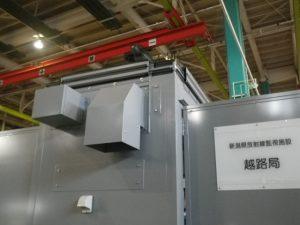 放射線モニタリングポスト(越路局)
