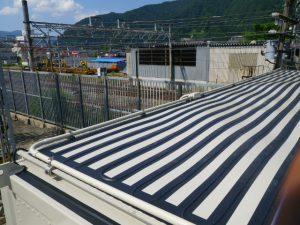 湯沢 変電所 陸屋根
