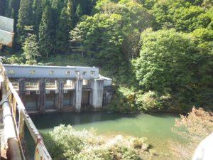 群馬 ダム管理施設 発電所取水口