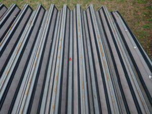 群馬 ダム管理施設 水槽 折板屋根