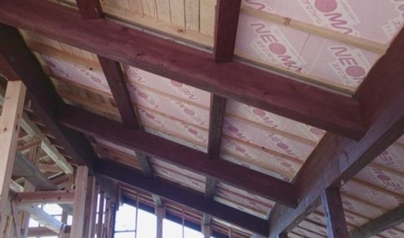 屋根の断熱材はスーパーAIRIN®
