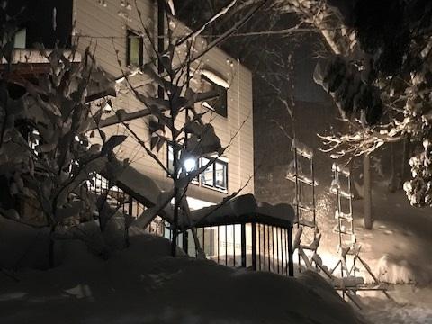 雪あかりの比較実験1(20180124)